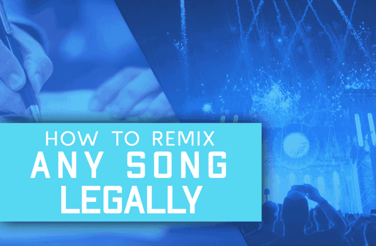 How To Remix Any Song Legally And Never Get Sued!