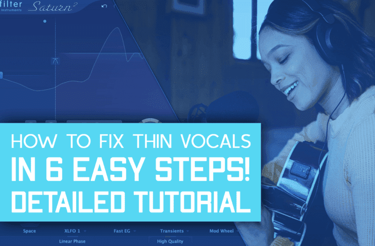 How To Fix Thin/Tinny Vocals In 6 Easy Steps!