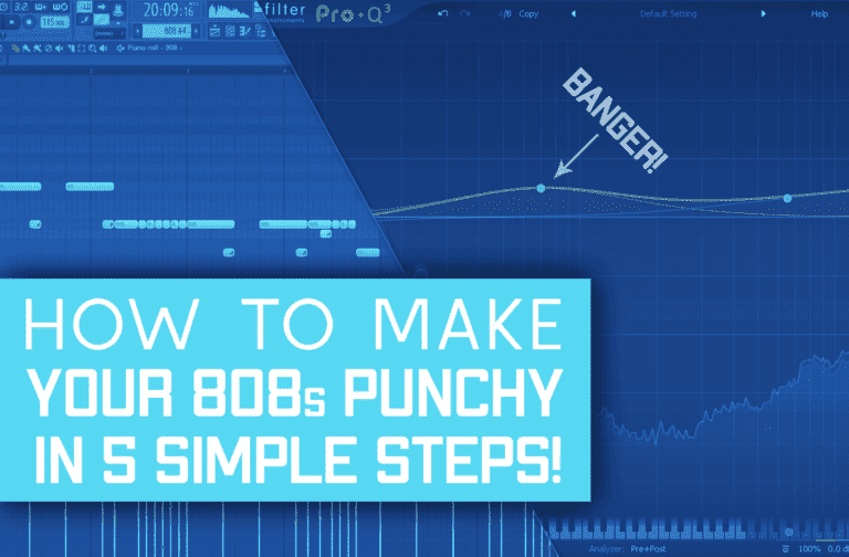 5 Methods To Make Your 808s Punchy That Actually Work!