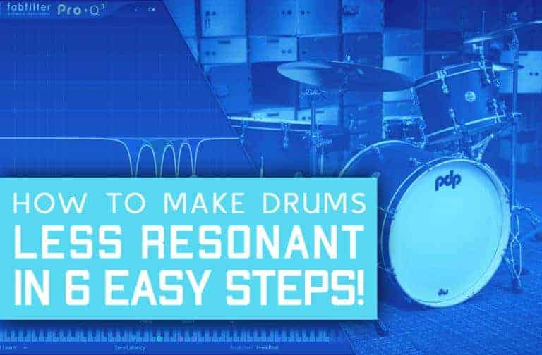 How To Make Drums Less Resonant In 6 Easy Steps!