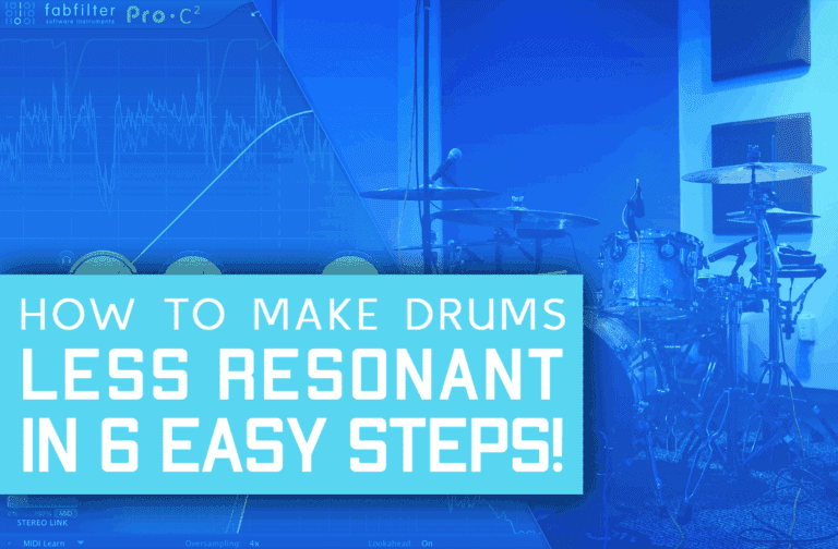 How To Mix Drums Professionally In 7 Easy Steps!