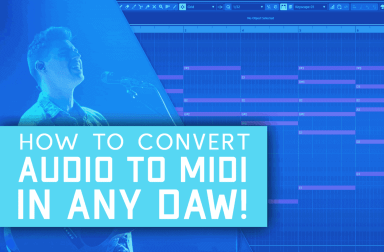 How To Accurately Convert Audio To Midi Easily (In Any DAW!)