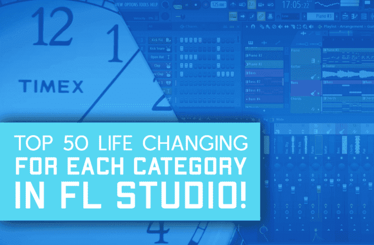 Top 50 Life Changing FL Studio Shortcuts By Category!